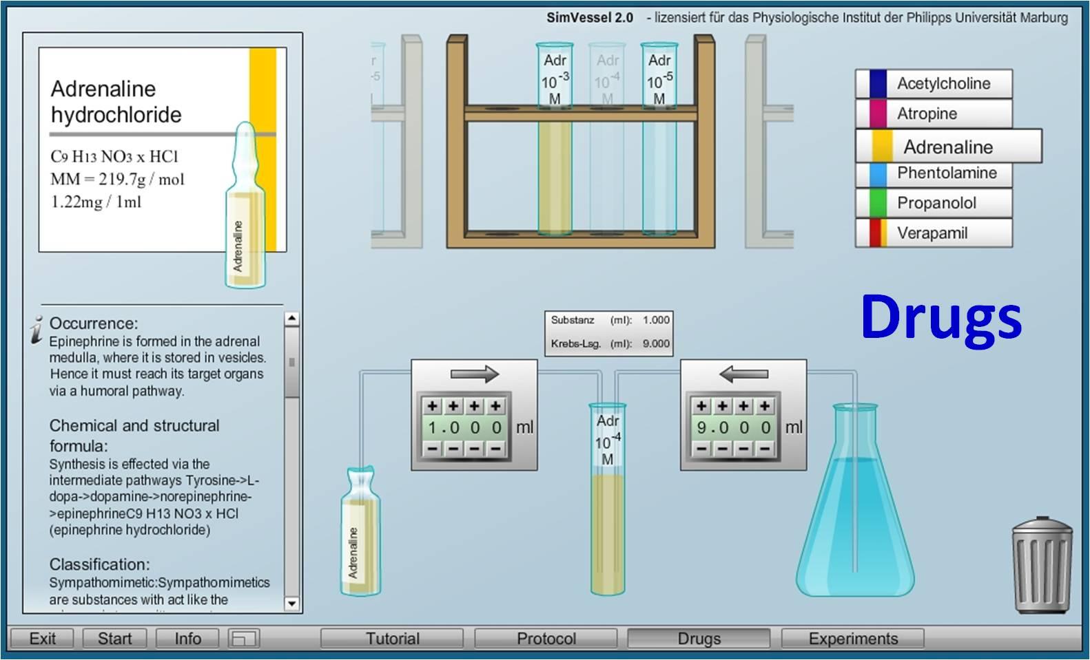 Virtual Physiology - SimVessel